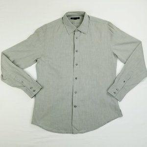 John Varvatos Medium Lightweight Gray Long Sleeve